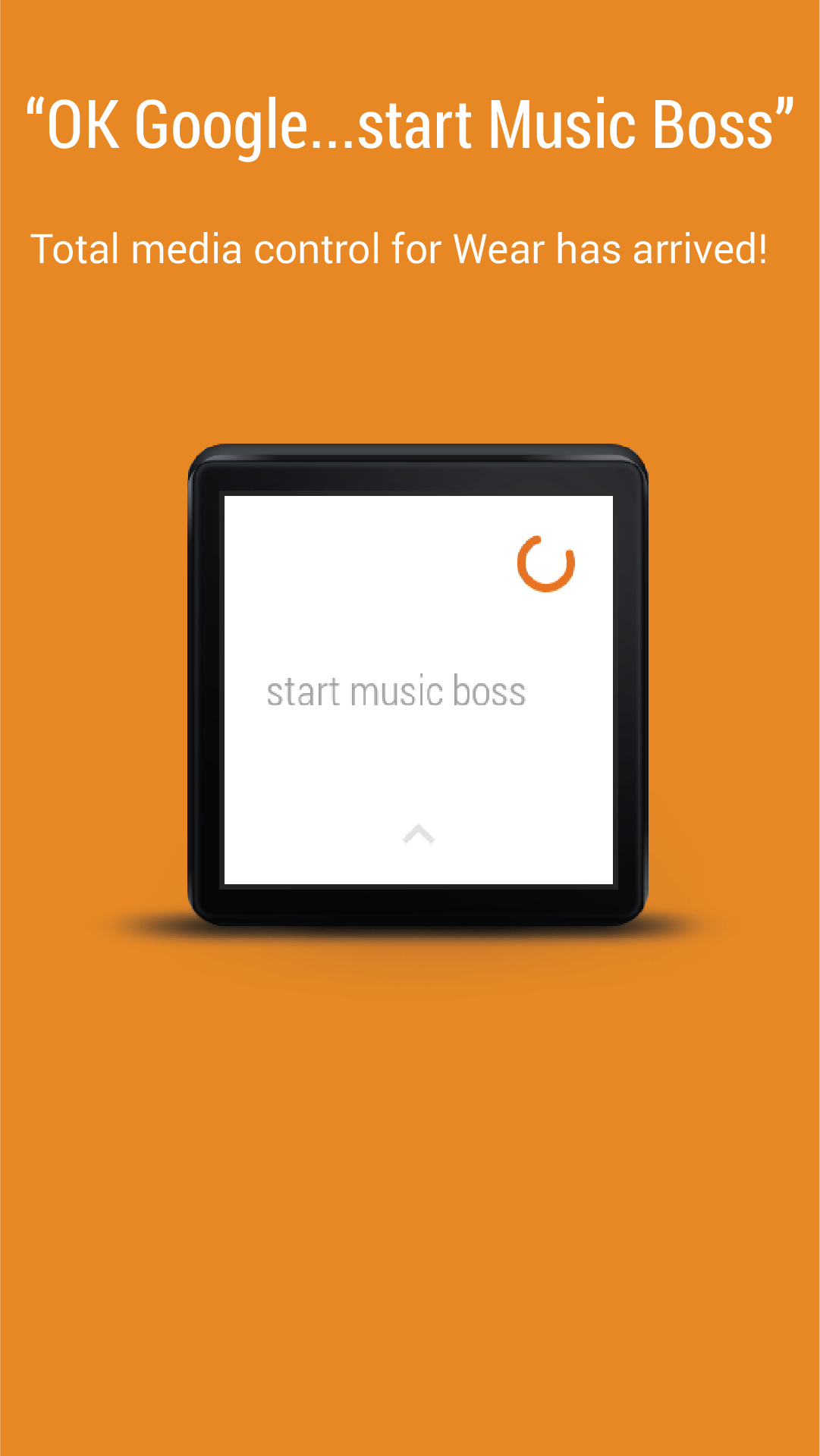 """Ok Google...start Music Boss"""